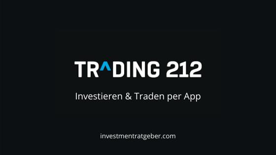 Trading212 – Investieren & Traden per App ohne Gebühren